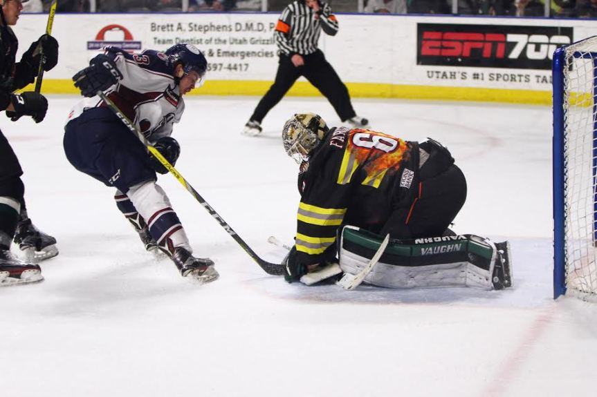 Utah Grizzlies: House on Fire