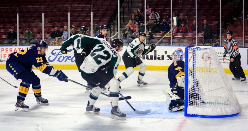 Utah Grizzlies: A Night of Firsts