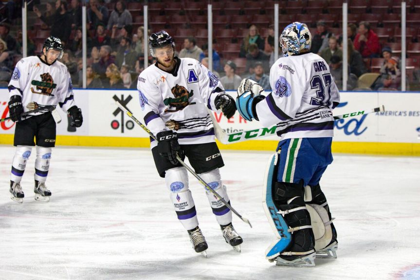 Utah Grizzlies: If at First You Don'tSucceed…