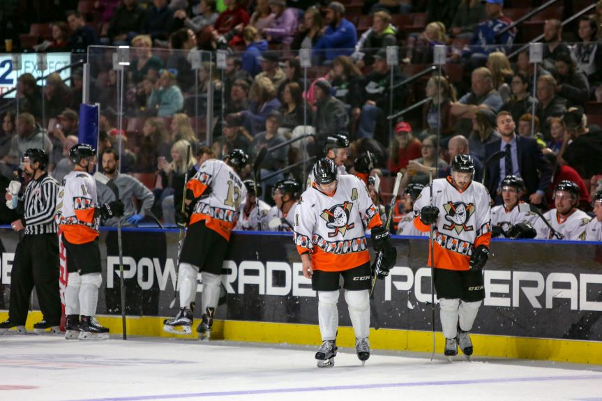 Utah Grizzlies: Ducks Fly Together, But Fall Just Short