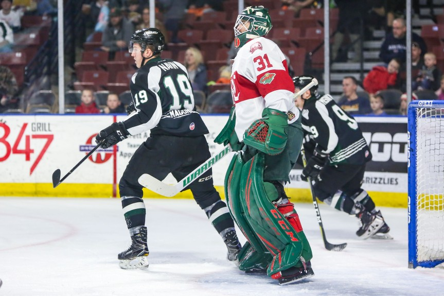 Utah Grizzlies: Shots in Vay-n