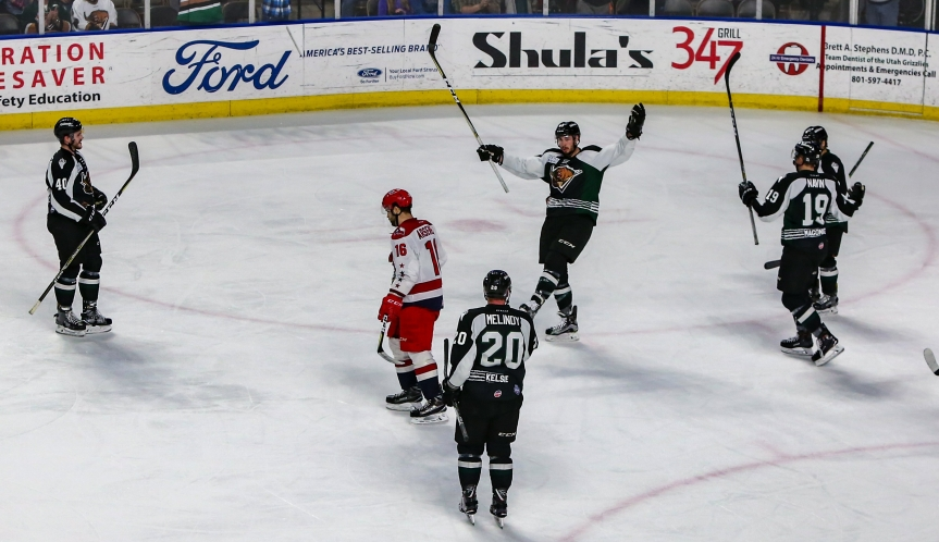Utah Grizzlies: Closely Contested