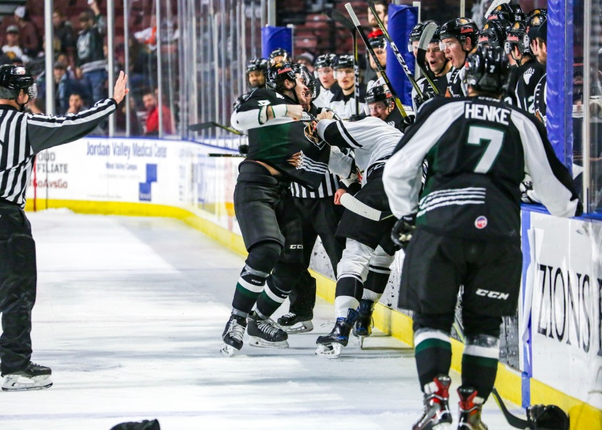 Utah Grizzlies vs. Rapid City: Terrible Turnovers
