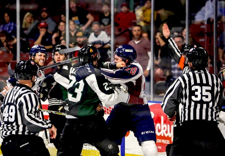Utah Grizzlies vs Tulsa Oilers: A Better Effort