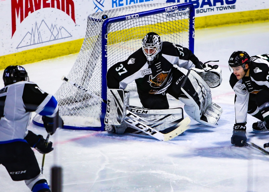 Utah Grizzlies vs Wichita Thunder: Finding a Way
