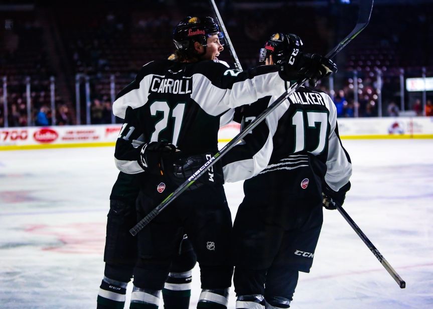 Utah Grizzlies vs Wichita Thunder: Home Sweep Home