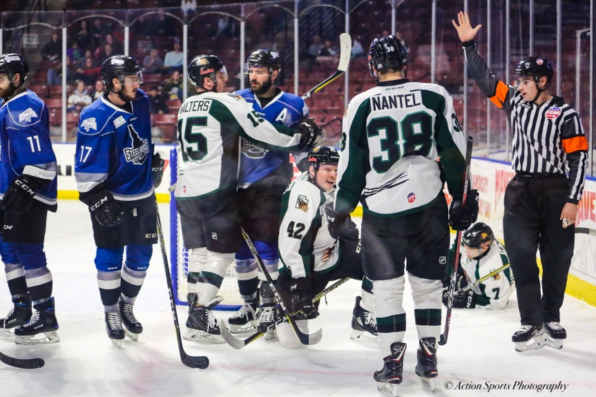Utah Grizzlies vs Idaho Steelheads: Let it Snow