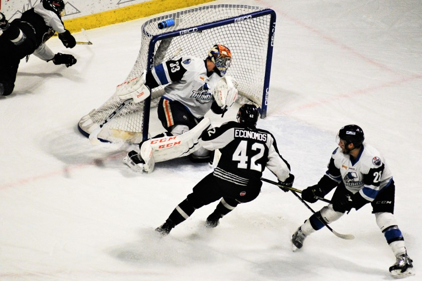 Utah Grizzlies @ Wichita Thunder: Caught in the Rain