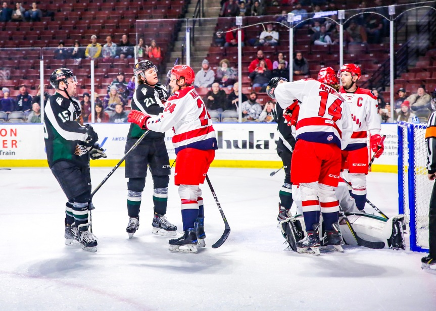 Utah Grizzlies @ Allen Americans: Weekend Split