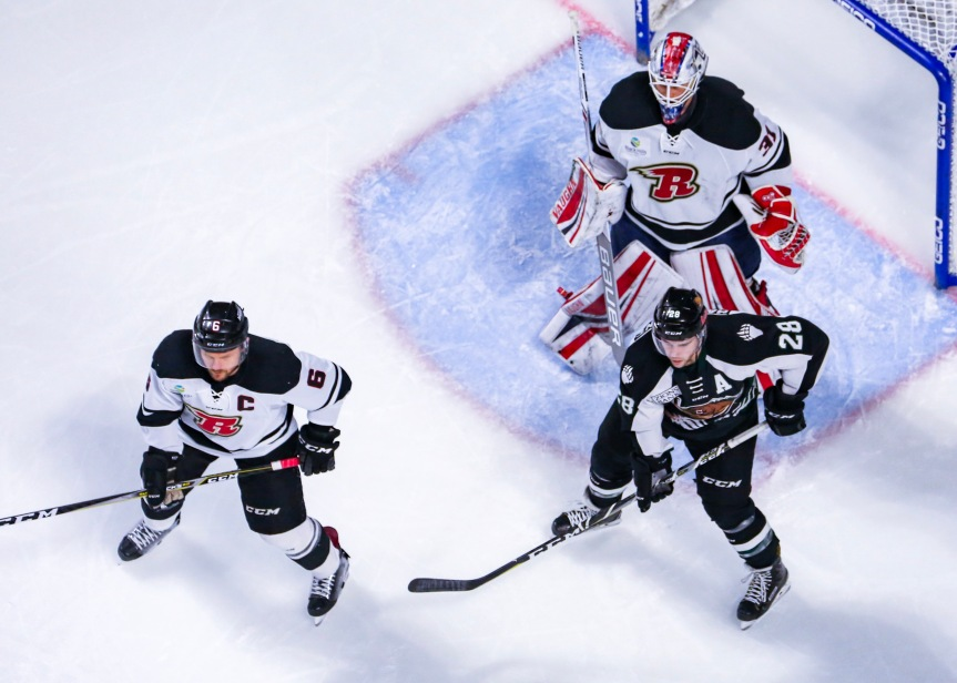 Utah Grizzlies @ Rapid City Rush: Uneventful