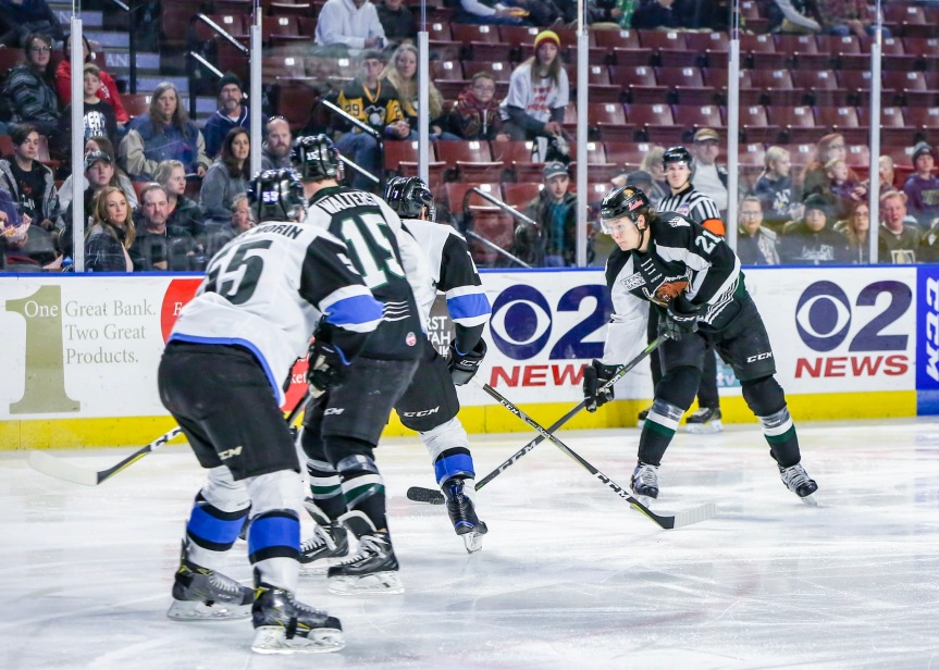 Utah Grizzlies @ Wichita Thunder: Under the Weather