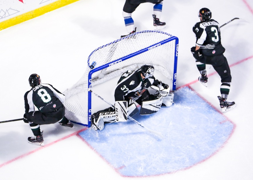 Utah Grizzlies @ Idaho Steelheads: Road Rage