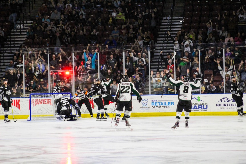 Utah Grizzlies vs Idaho Steelheads: Battling Back