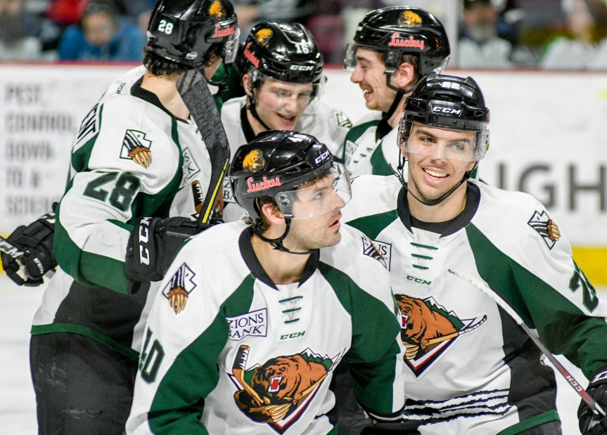Utah Grizzlies @ Idaho Steelheads: Magnificent 7