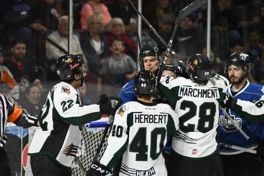 Utah Grizzlies @ Idaho Steelheads: Chaos is a Ladder