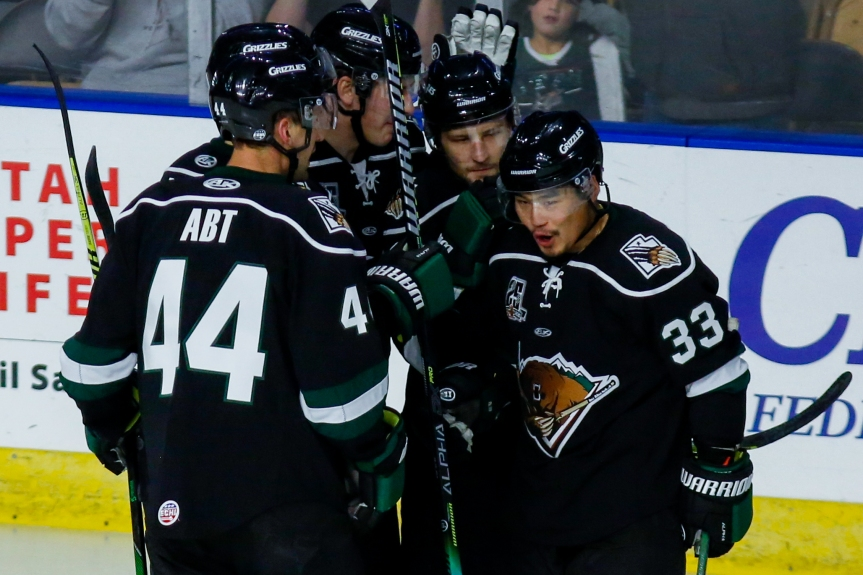 Utah Grizzlies: Gone Streaking